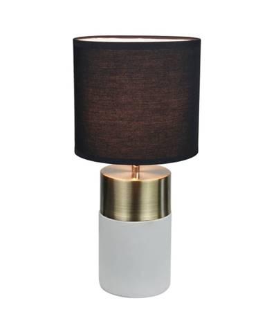 Stolná lampa svetlosivá/čierna QENNY TYP 20 LT8371