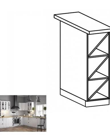Dolná skrinka D20W biela PROVANCE