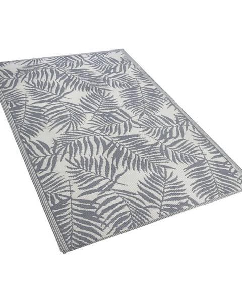 Monobeli Tmavosivý vonkajší koberec Monobeli Casma, 120 x 170 cm