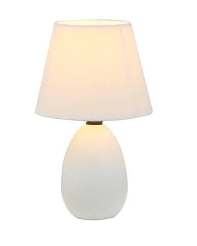 Keramická stolná lampa biela QENNY TYP 12 AT09350