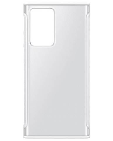 Kryt na mobil Samsung Galaxy Note20 Ultra biely/priehľadný