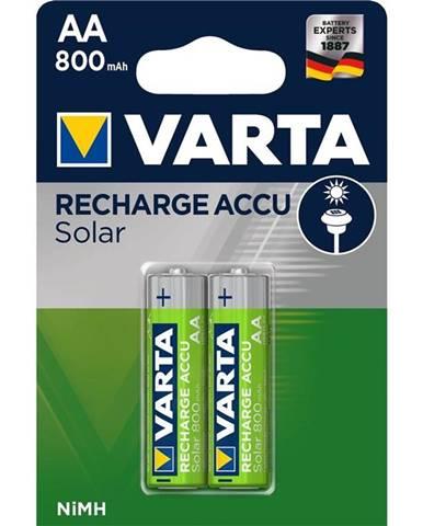 Batéria nabíjacie Varta Solar Rechargeable Accu AA, HR06, 800mAh,