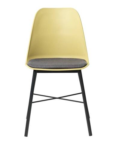 Žltá jedálenská stolička Unique Furniture Whistler