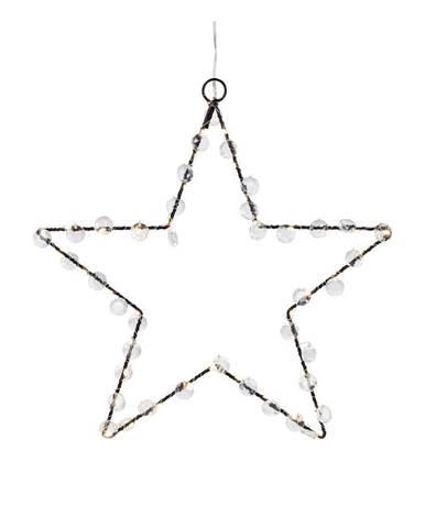 Svetelná LED dekorácia Markslöjd Wivi, výška 28 cm