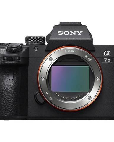 Digitálny fotoaparát Sony Alpha 7 III, telo čierny