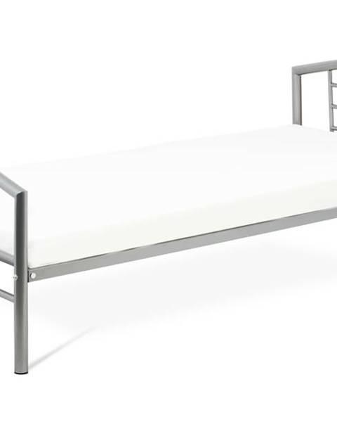 Sconto Posteľ CORTINA sivá, 90x200 cm