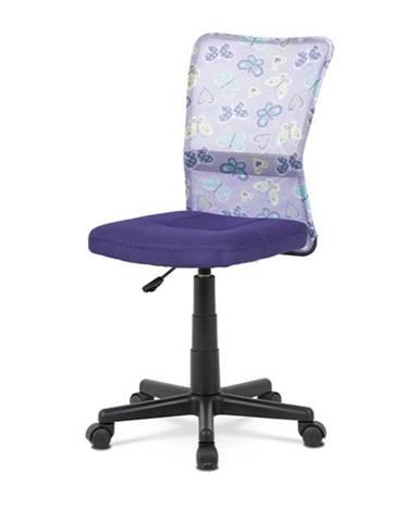 Kancelárska stolička BAMBI fialová