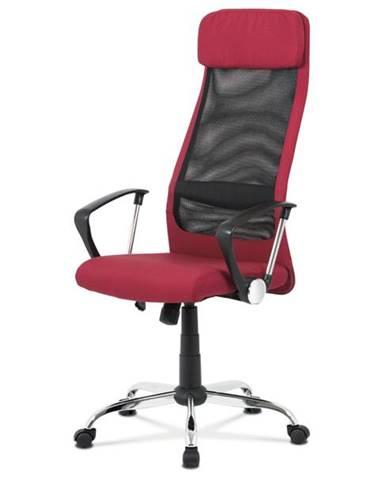 Kancelárska stolička EDISON červená