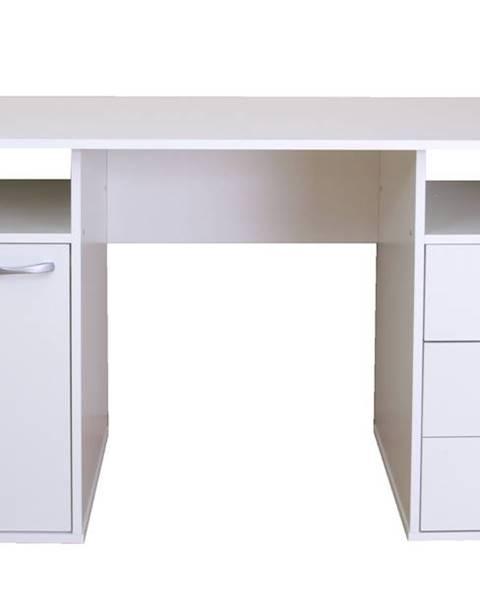 Sconto Písací stôl KUBA biela