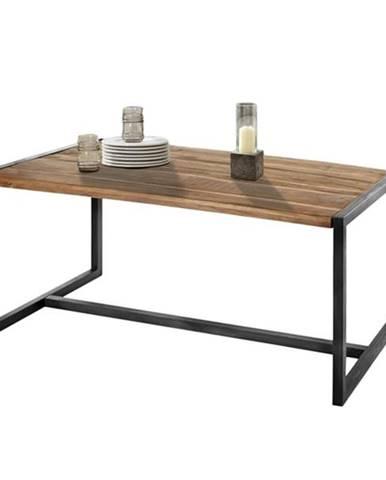 Jedálenský stôl SPRING akácia/kov
