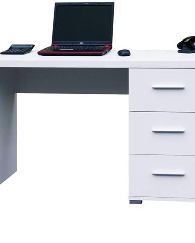 Písací stôl PEN biela