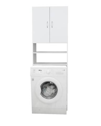 Skrinka nad práčku NELLY biela