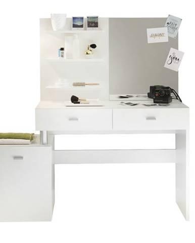 Toaletný stolík SHADOW biela
