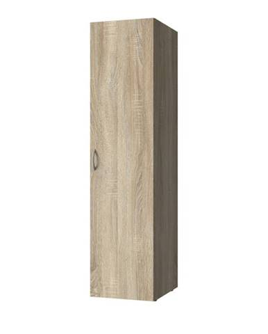 Viacúčelová skriňa MULTIRAUMKONZEPT 638, dub sägerau, 40 cm