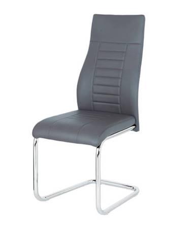Jedálenská stolička ADRIENA sivá