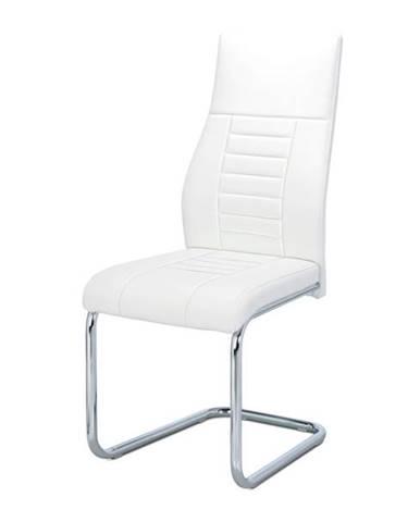 Jedálenská stolička ADRIENA biela