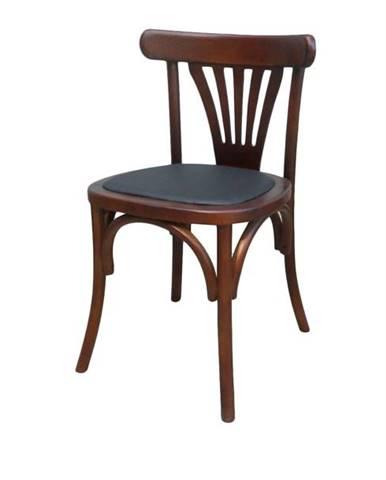 Jedálenská stolička JORAH hnedá