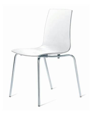 Jedálenská stolička LOLLIPOP biela