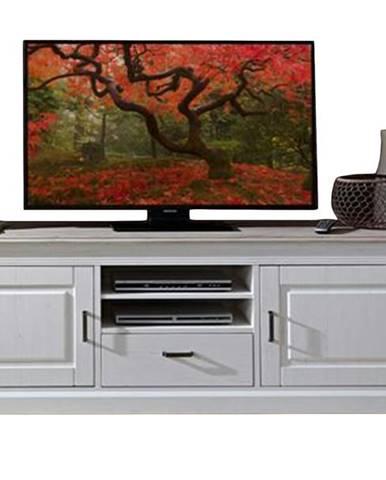 TV stolík LIMA 31 pínia/biela