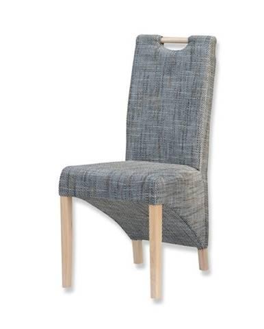 Jedálenská stolička BIANCA sivá