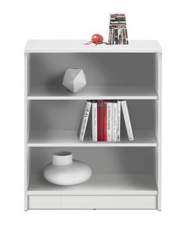 Regál/knižnica OPTIMUS 35-002 biela