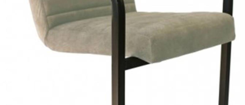 Jedálenská stolička Merenga čierna, béžová
