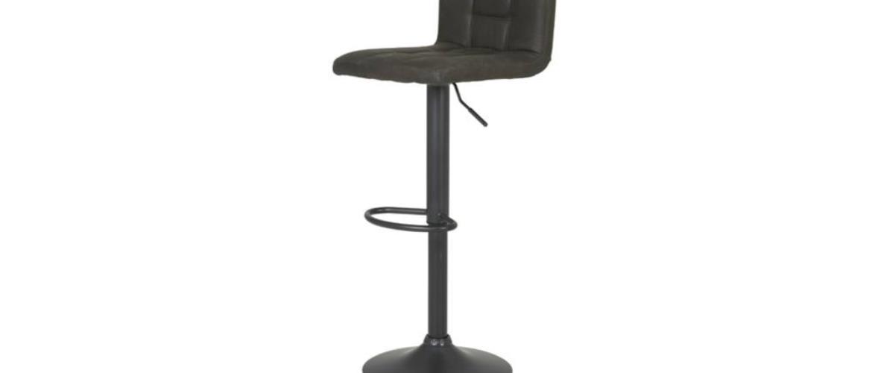 Barová stolička AMANDA vintage bahno